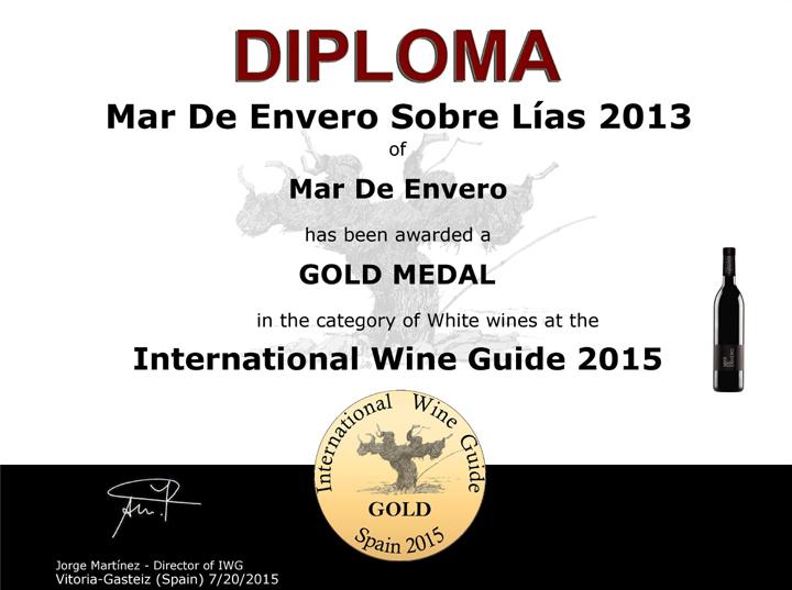 Albariño Mar de Envero: International Wine Guide 2015