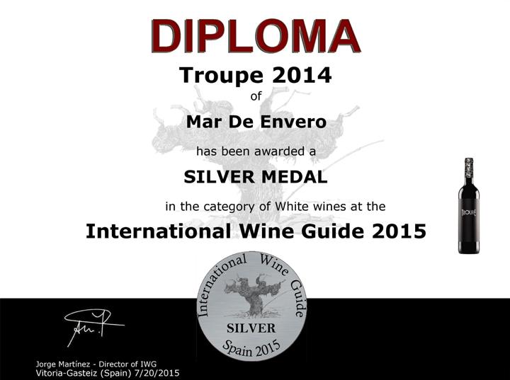 Albariño Troupe: International Wine Guide 2014