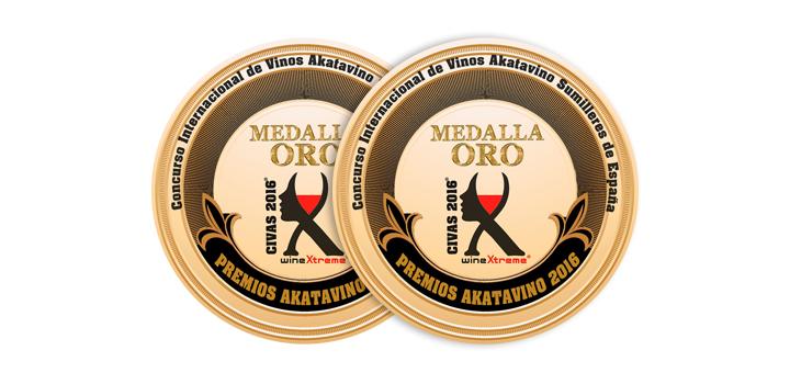 Los albariños Mar de Envero y Troupe reciben la Medalla de Oro en los Premios akataVino CIVAS 2016