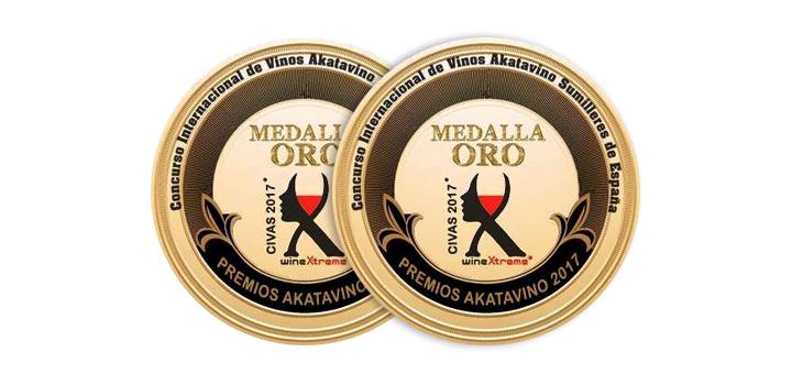 Os albariños Mar de Envero e Troupe reciben a Medalla de Ouro nos Premios AkataVino CIVAS 2017