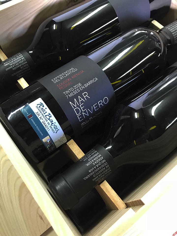 La bodega Mar de Envero lanza su primer vino tinto, con el que inaugura la línea «Experiencias del Atlántico»