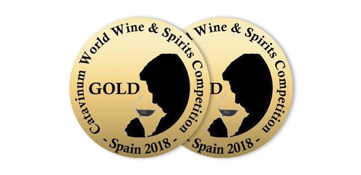 Os albariños Mar de Envero e Troupe, Medallas de Ouro na Catavinum World Wine & Spirit Competition