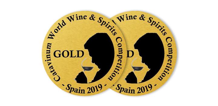 Los albariños Mar de Envero y Troupe, Medallas de Oro en la Catavinum World Wine & Spirit Competition
